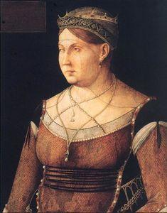 Portrait of Catharina Cornaro, Queen of Cyprus