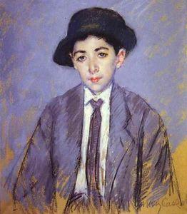 Portrait of Charles Dikran Kelekian at Age 12