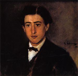 Portrait of Felix Liebermann