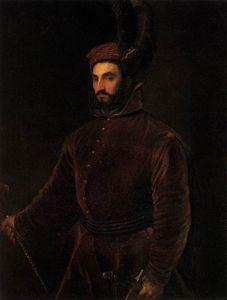 Porträt von Ippolito de Medici