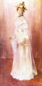 Portrait of a Lady against Pink Ground (also known as Miss Virginia Gerson)