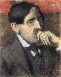 Portrait of László Vágó