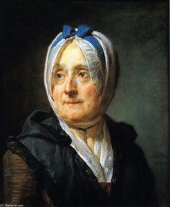 Portrait of Madame Chardin, nee Francoise-Marguerite Pouget