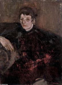 Portrait of Marie Breitner