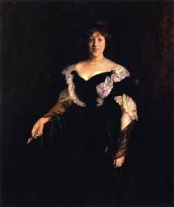Portrait of Mrs. H. (also known as Mrs. H, Lady in Black)