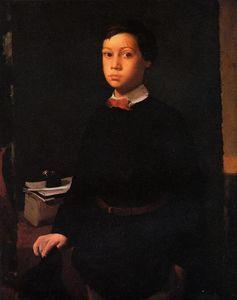 Portrait of Rene De Gas