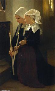 Prayer at Sainte-Anne-d'Auray