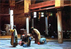 Prayer in a Mosque