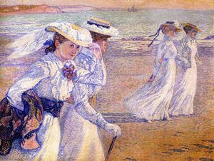 The Promenade (also known as The Stroll, Women on the Beach)