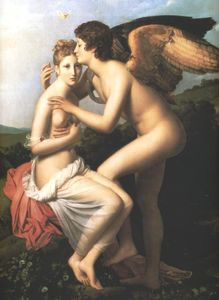 Psyche and Amour (also known as Cupid and Psyche)