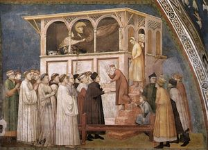 Raising of the Boy in Sessa (North transept, Lower Church, San Francesco, Assisi)