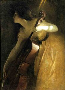A Ray of Sunlight (also known as The Cellist)