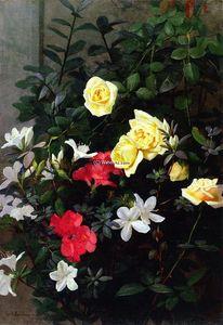 Roses and Azaleas