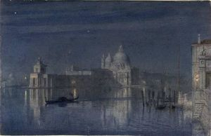 Santa Maria Della Salute, Venice Moonlight