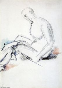 Seated Nude (also known as Ishmael)