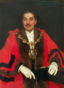 Sir Herbert John Ormond, Mayor of Stoke Newington