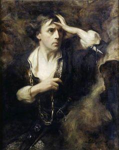 Sir John Martin-Harvey as 'Hamlet'