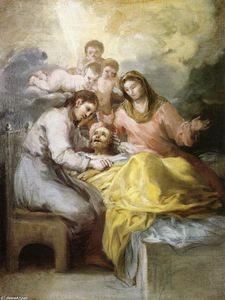 Sketch for The Death of Saint Joseph