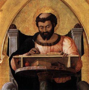 San Luca Altarpiece (detail)