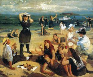 Юг пляжа Купальщицы