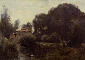 Andenken von die villa Borghese