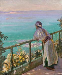 Spanish Coast from Tangier, Trafalgar