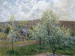 Spring near Paris