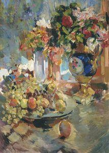 Still-life with a Blue Vase