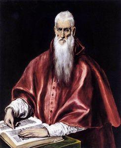 St Jerome as a Scholar