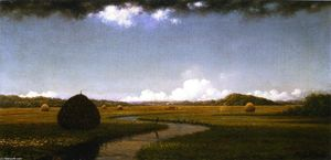 Storm Clouds over the Marshes