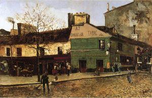 Street Scene in Paris