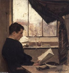 A Student (also known as Self-portrait)