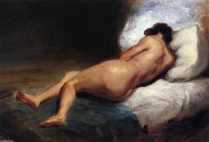 Study of a Reclining Nude