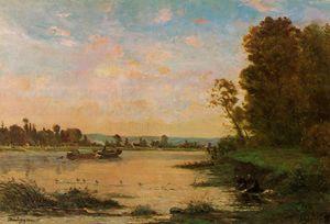 Summer Morning on the Oise