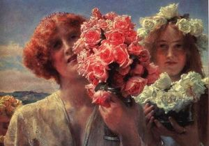 Summer Offering (also known as Young Girls with Roses)