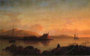 Sunrise on the Maine Coast, Mount Desert Island