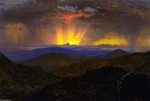 Sunset, Jamaica (study for 'The After Glow)''