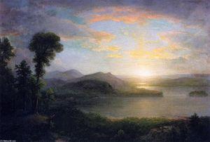 Sunset: Souvenir of the Adirondacks