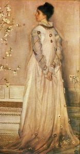 Symphony in Flesh Colour and Pink: Portrait of Mrs. Frances Leyland