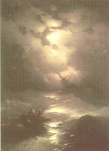 Tempest on the Northern sea