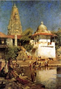 The Temples and Tank of Walkeshwar at Bombay