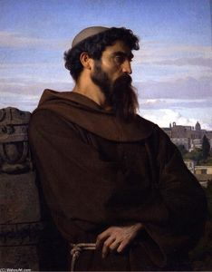A Thinker, Young Roman Monk