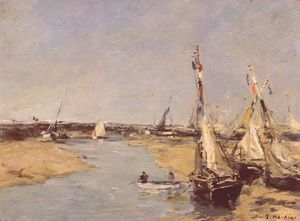 Trouville at Low Tide