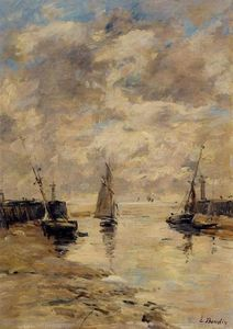 Trouville, the Jettys, Low Tide (9)