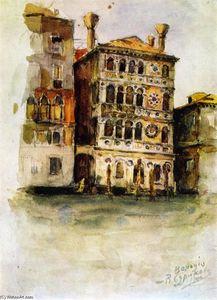 Venice. Palazzo on the Canale Grande