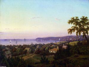 View of Irvington Looking toward Tarrytown, New York