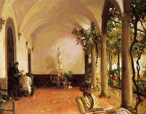 Villa Torre Galli: The Loggia