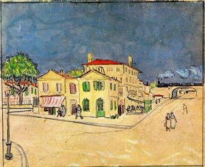 'Vincent's House in Arles (also known as The Yellow House)'