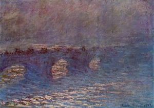 Waterloo Bridge, Effect of Sun in the Mist