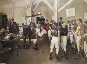 The Weighing Room, Hurst Park